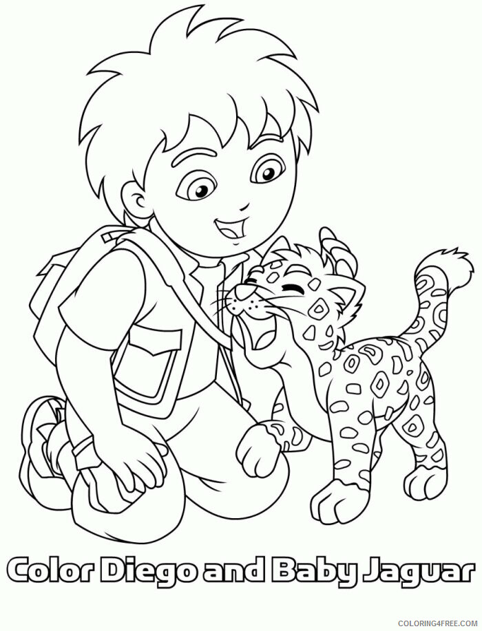 Jaguar Coloring Sheets Animal Coloring Pages Printable 2021 2569 Coloring4free