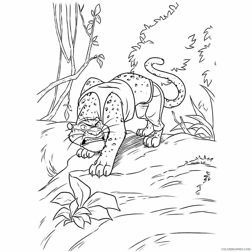 Jaguar Coloring Sheets Animal Coloring Pages Printable 2021 2571 Coloring4free