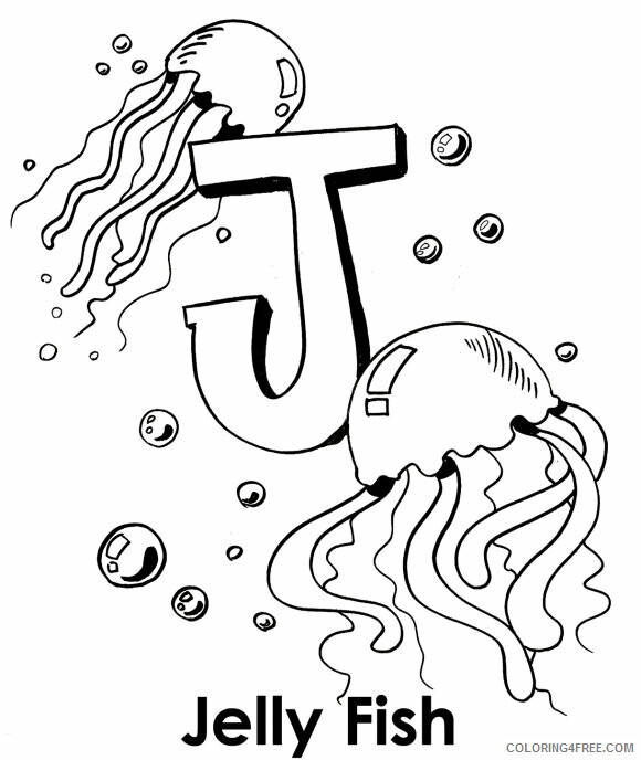 Jellyfish Coloring Sheets Animal Coloring Pages Printable 2021 2593 Coloring4free