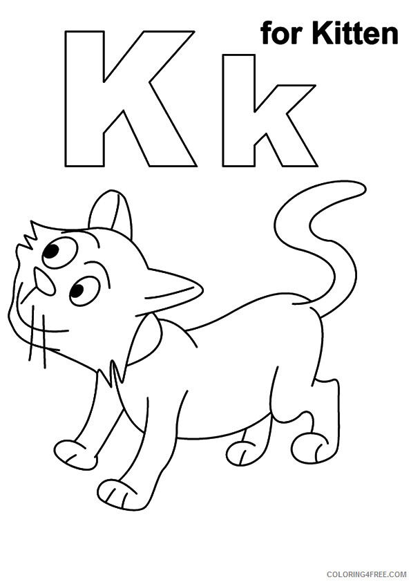 Kitten Coloring Pages Animal Printable Sheets of kittens 2021 2969 Coloring4free