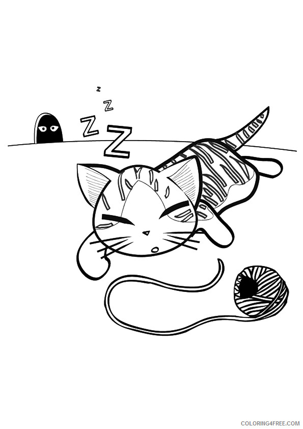 Kitten Coloring Pages Animal Printable Sheets printable kitten image 2021 3018 Coloring4free
