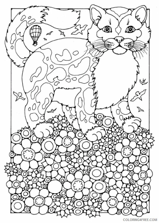 Kitten Coloring Sheets Animal Coloring Pages Printable 2021 2632 Coloring4free