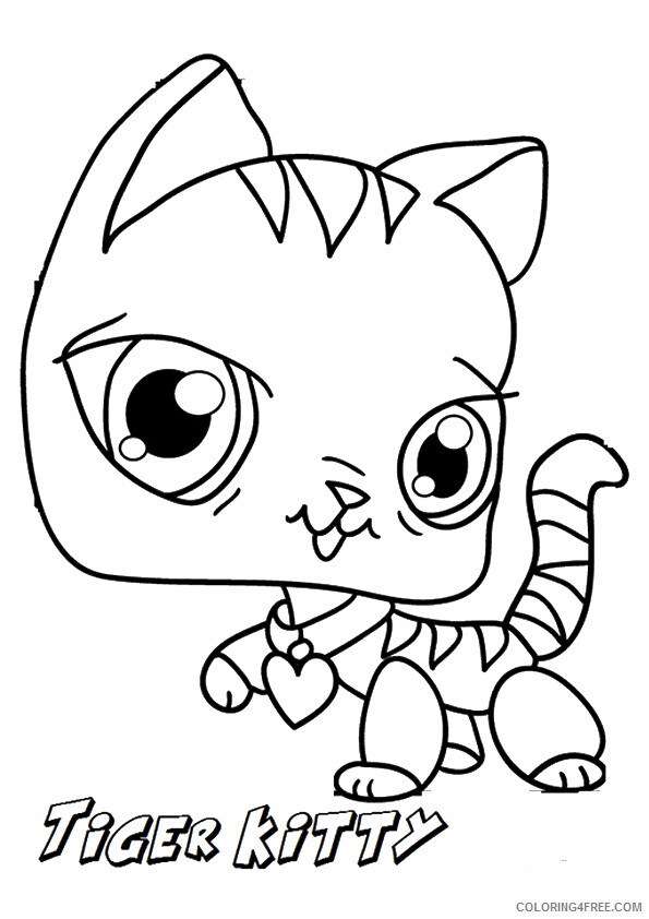 Kitten Coloring Sheets Animal Coloring Pages Printable 2021 2639 Coloring4free