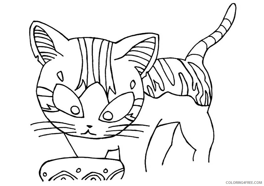 Kitten Coloring Sheets Animal Coloring Pages Printable 2021 2640 Coloring4free