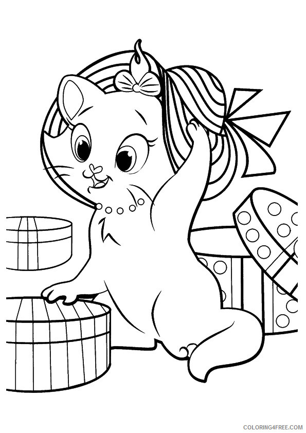 Kitten Coloring Sheets Animal Coloring Pages Printable 2021 2642 Coloring4free