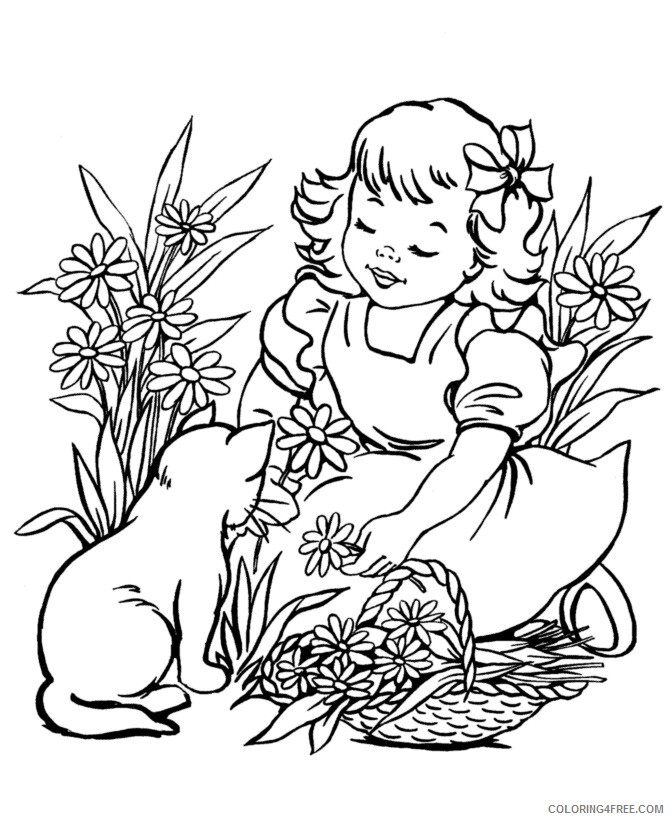 Kitten Coloring Sheets Animal Coloring Pages Printable 2021 2655 Coloring4free