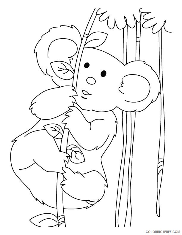 Koala Coloring Sheets Animal Coloring Pages Printable 2021 2740 Coloring4free