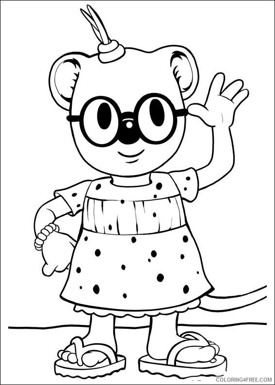 Koala Coloring Sheets Animal Coloring Pages Printable 2021 2747 Coloring4free