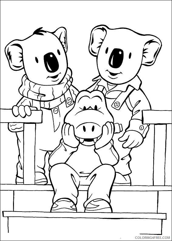 Koala Coloring Sheets Animal Coloring Pages Printable 2021 2771 Coloring4free