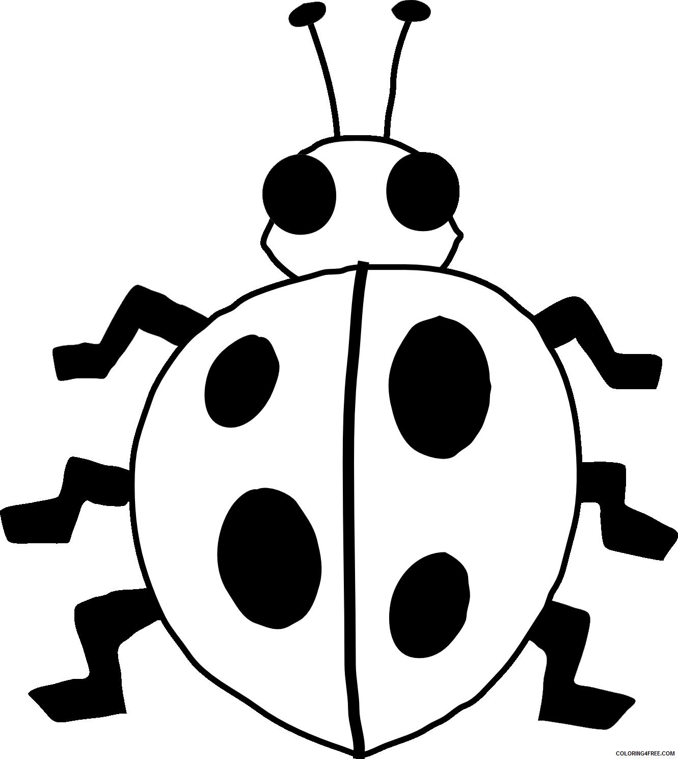 Ladybug Coloring Pages Animal Printable Sheets Ladybug 2021 3091 Coloring4free