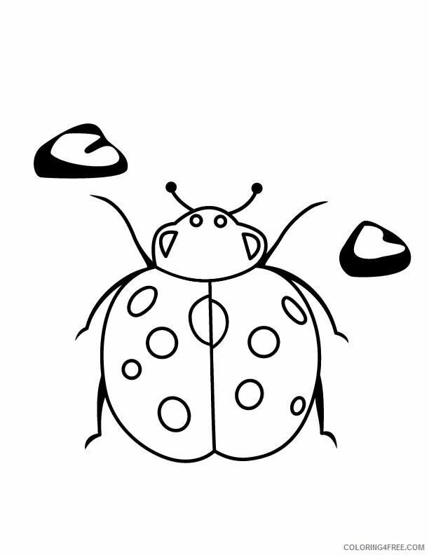 Ladybug Coloring Pages Animal Printable Sheets Ladybug Sheets 2021 3092 Coloring4free