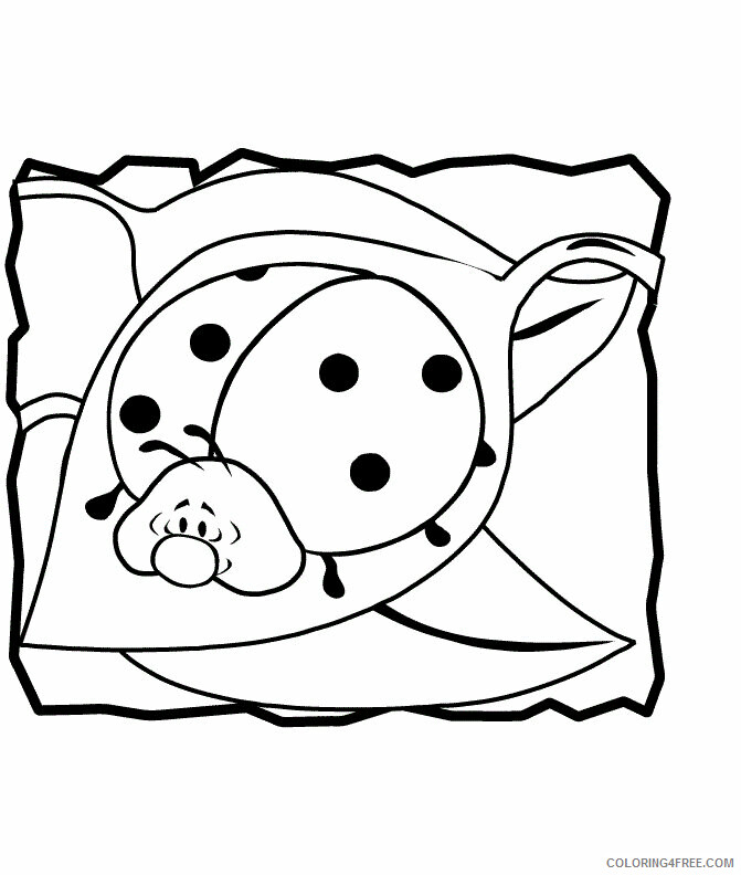Ladybug Coloring Sheets Animal Coloring Pages Printable 2021 2776 Coloring4free