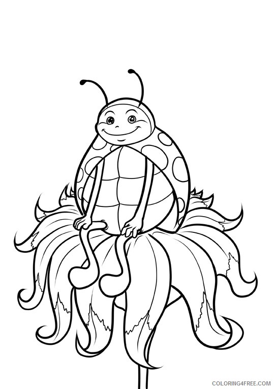 Ladybug Coloring Sheets Animal Coloring Pages Printable 2021 2792 Coloring4free
