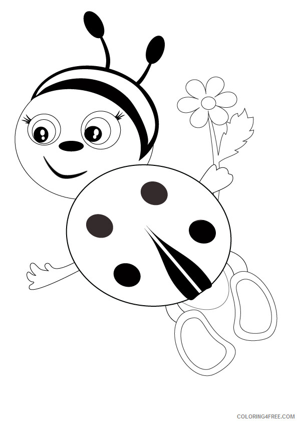 Ladybug Coloring Sheets Animal Coloring Pages Printable 2021 2802 Coloring4free