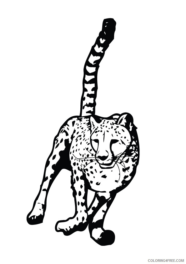 Leopard Coloring Sheets Animal Coloring Pages Printable 2021 2817 Coloring4free