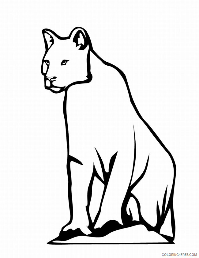 Leopard Coloring Sheets Animal Coloring Pages Printable 2021 2820 Coloring4free