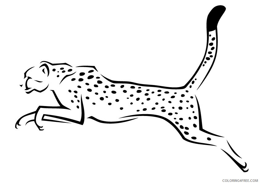 Leopard Coloring Sheets Animal Coloring Pages Printable 2021 2825 Coloring4free