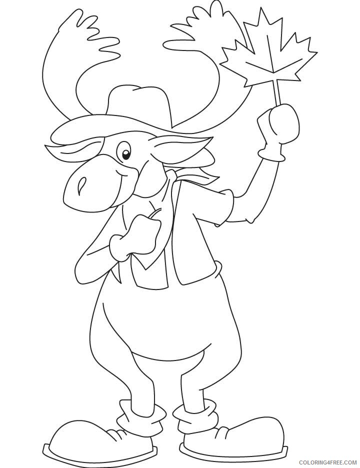 Moose Coloring Sheets Animal Coloring Pages Printable 2021 2916 Coloring4free