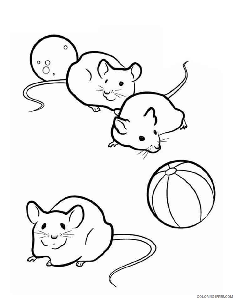 Mouse Coloring Pages Animal Printable Sheets Mouse 11 2021 3431 Coloring4free