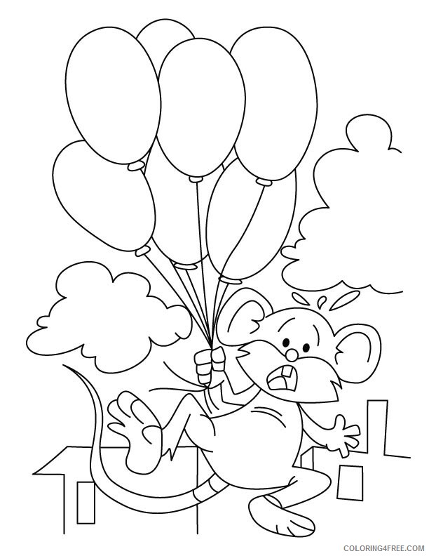 Mouse Coloring Pages Animal Printable Sheets Mouse Free 2021 3441 Coloring4free