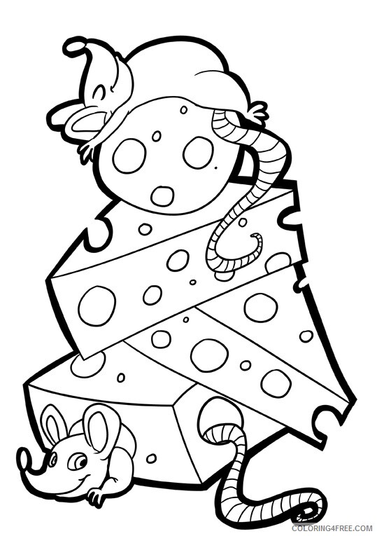 Mouse Coloring Sheets Animal Coloring Pages Printable 2021 2945 Coloring4free