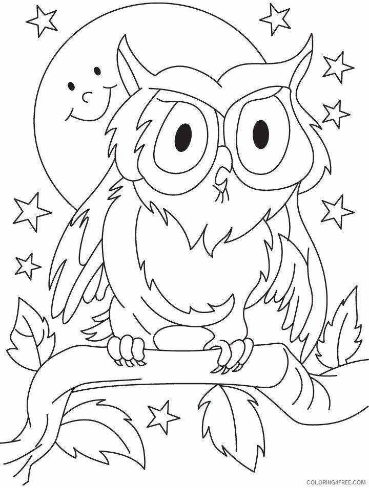 Owl Coloring Sheets Animal Coloring Pages Printable 2021 3032 Coloring4free