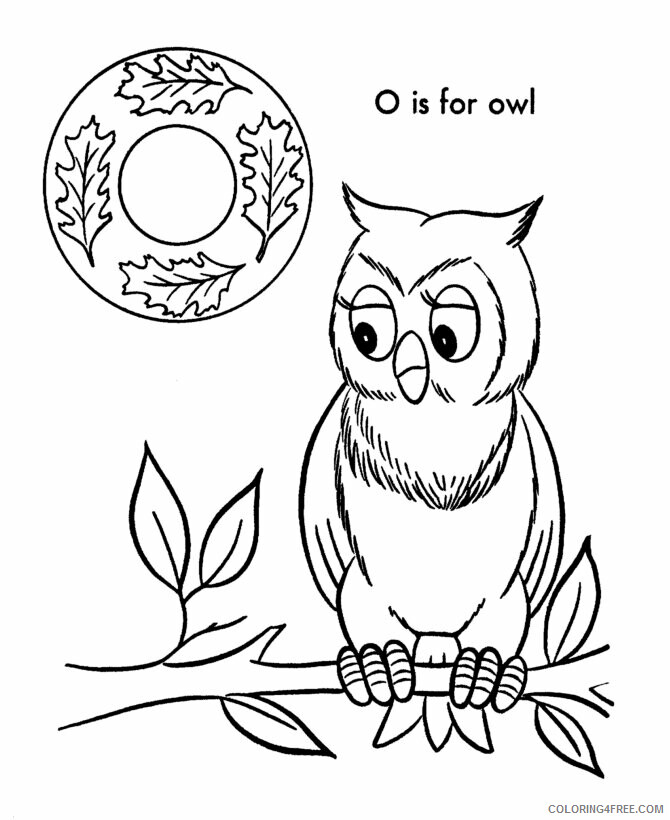Owl Coloring Sheets Animal Coloring Pages Printable 2021 3056 Coloring4free