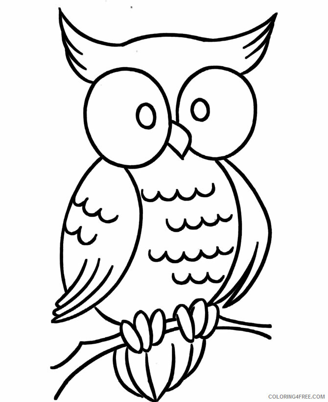 Owl Coloring Sheets Animal Coloring Pages Printable 2021 3069 Coloring4free