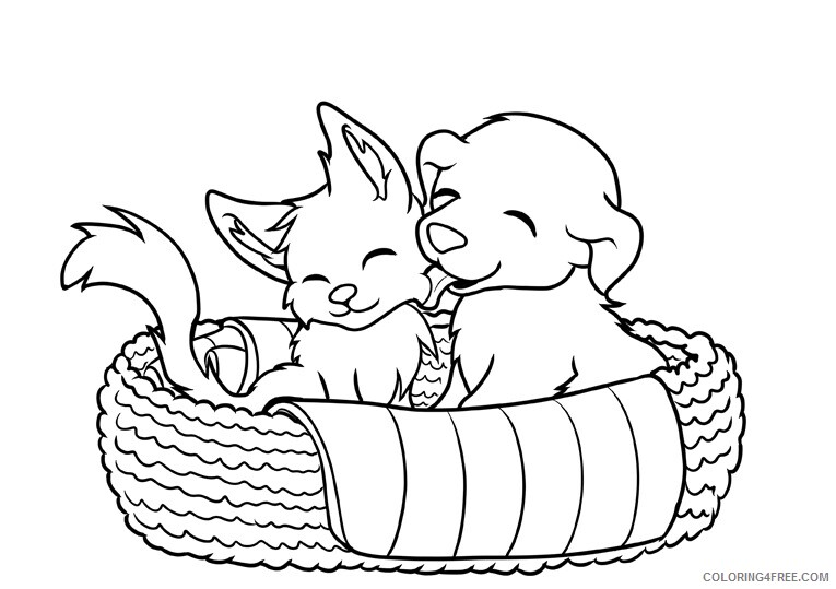 Puppy Coloring Sheets Animal Coloring Pages Printable 2021 3505 Coloring4free