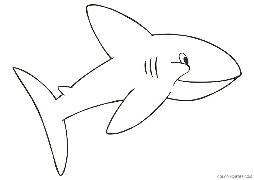 Shark Coloring Sheets Animal Coloring Pages Printable 2021 4004 Coloring4free