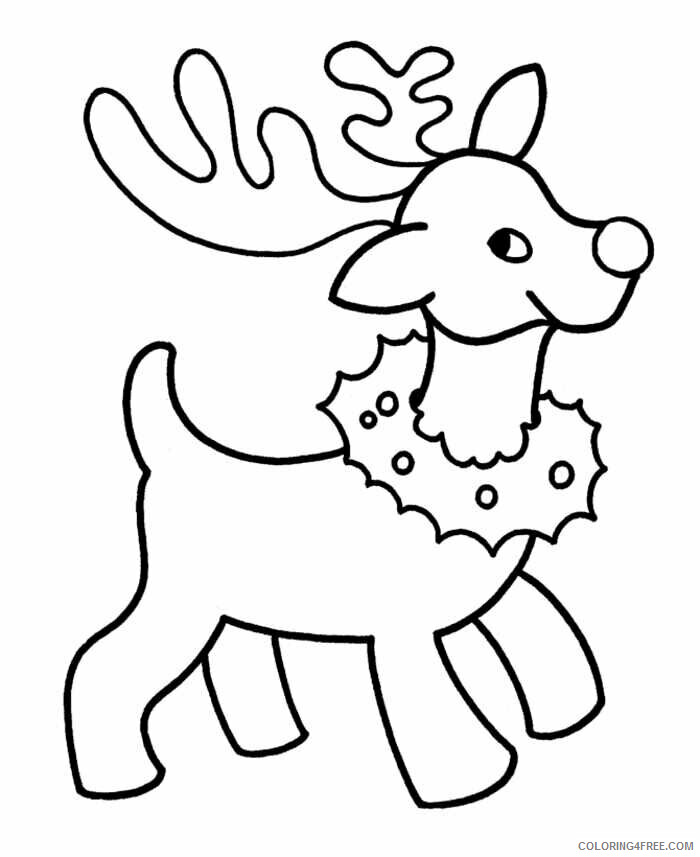 AZ Coloring Pages Christmas Printable Sheets Christmas For Toddlers 2021 a 4426 Coloring4free