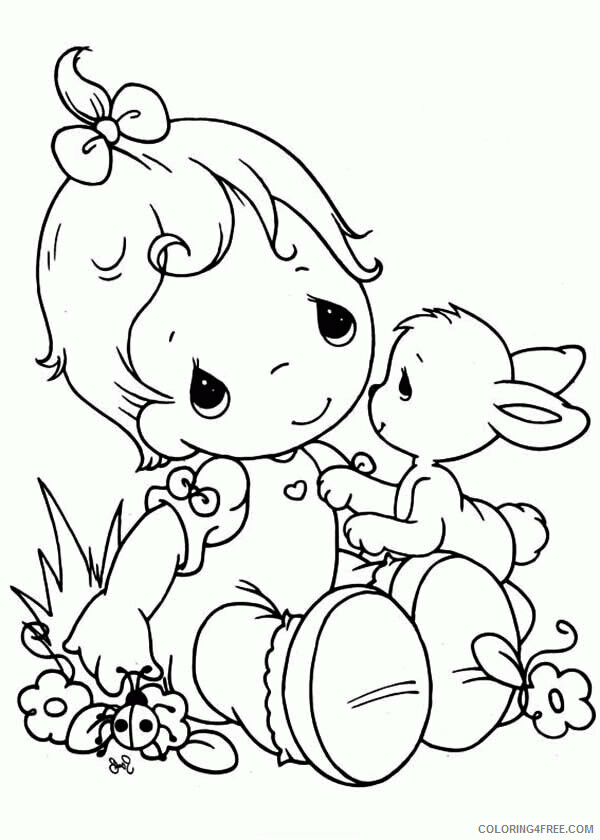 Az Coloring Pages Angel Printable Sheets Personalized Precious Moments Angel 2021 a 4417 Coloring4free