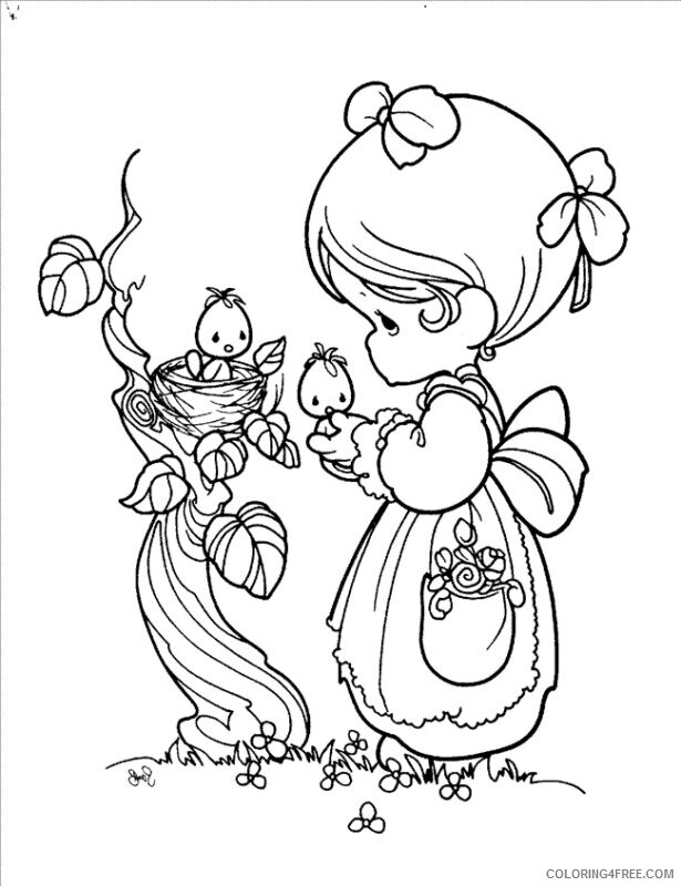 Az Coloring Pages Angel Printable Sheets Precious Moments Angel Pages 2021 a 4418 Coloring4free