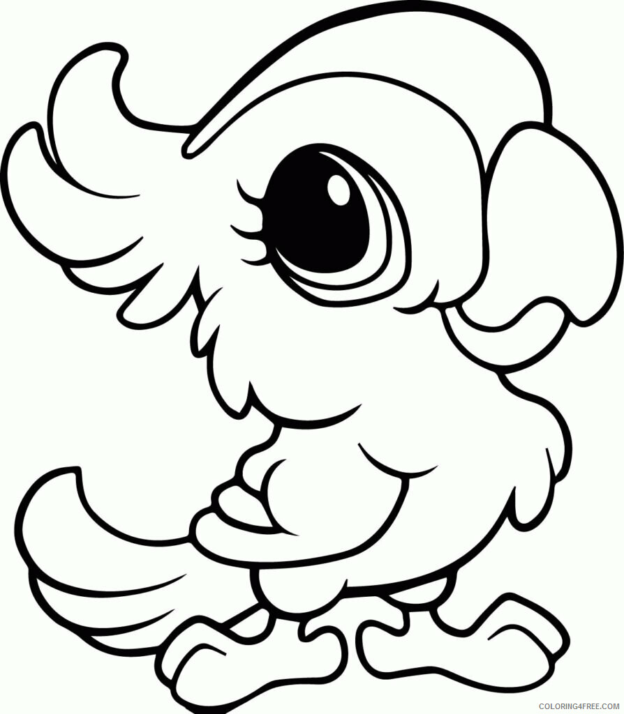 Az Coloring Pages of Animals Printable Sheets Ability Cute Of 2021 a 4439 Coloring4free