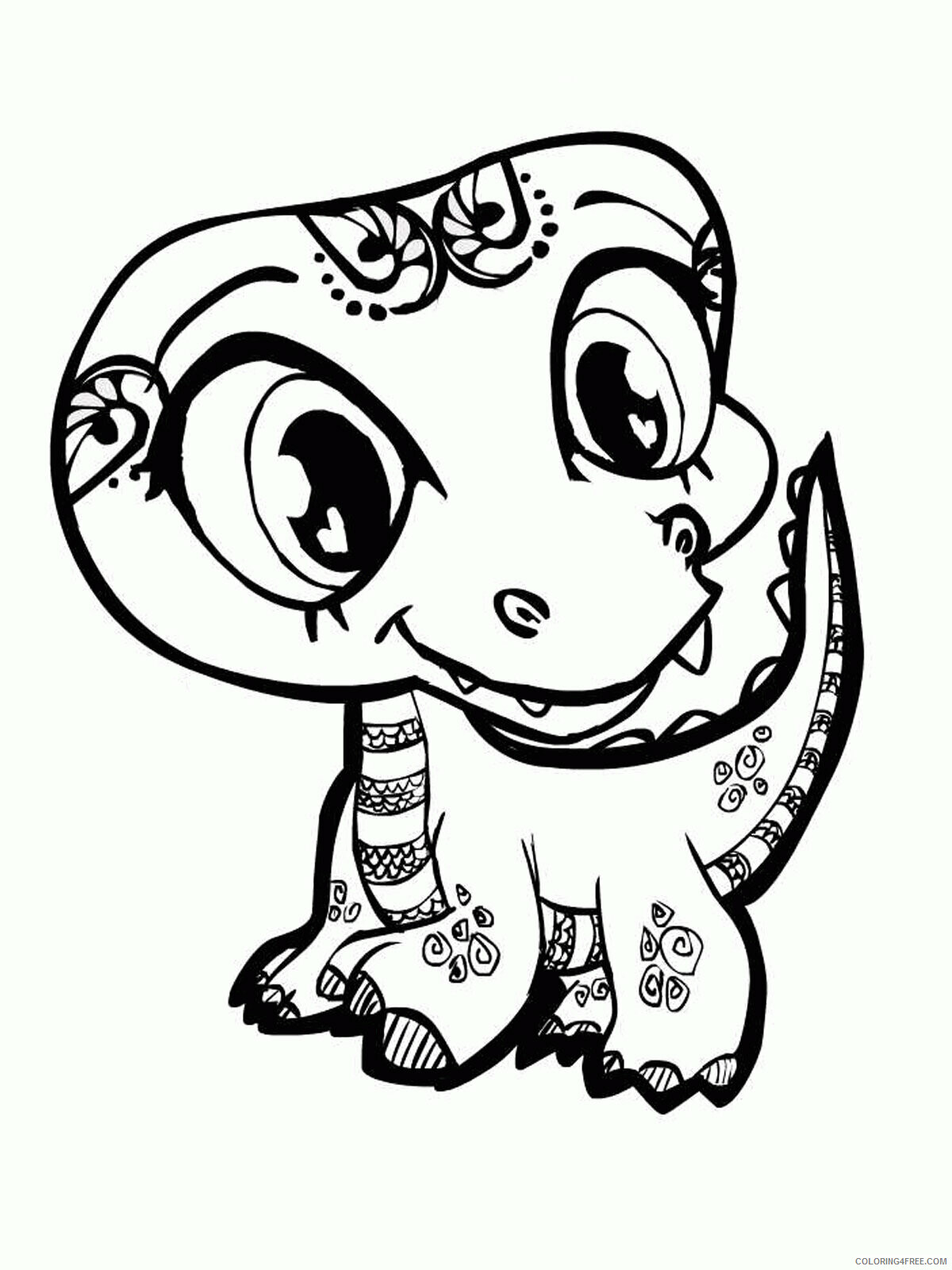 Az Coloring Pages of Animals Printable Sheets Acumen Cute Of 2021 a 4441 Coloring4free