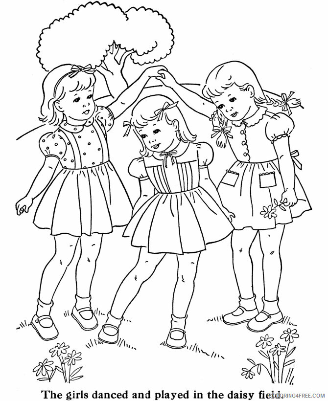 Az Coloring Pages of Dolls for Kids Printable Sheets American Girl Doll To Print 2021 a 4462 Coloring4free