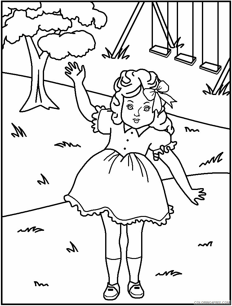 Az Coloring Pages of Dolls for Kids Printable Sheets for kids american 2021 a 4470 Coloring4free