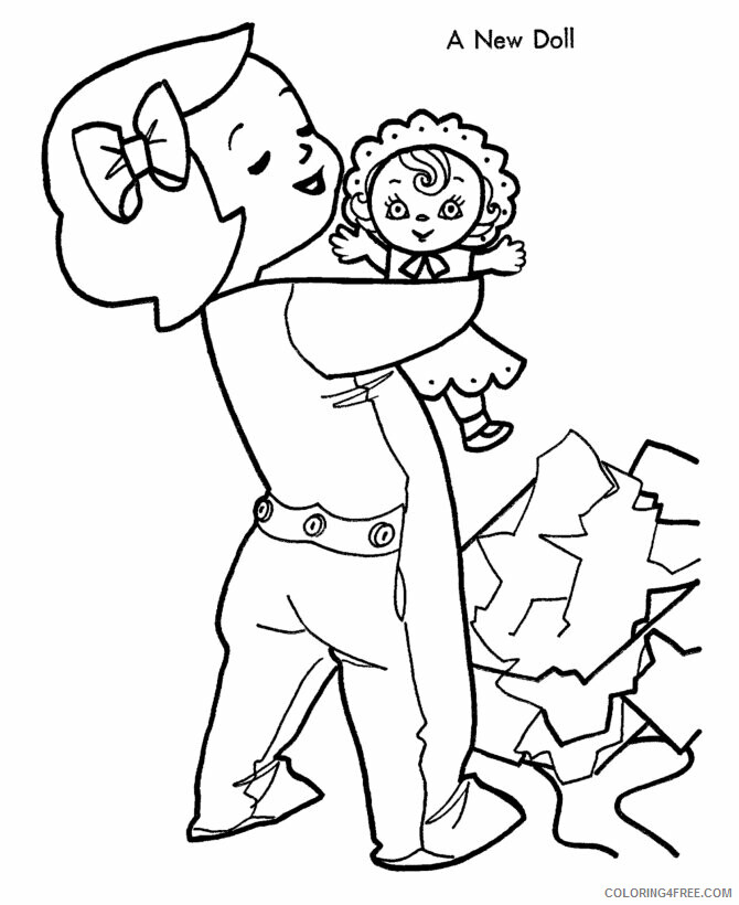 Az Coloring Pages of Dolls for Kids Printable Sheets kids color page cartoon pages 2021 a Coloring4free