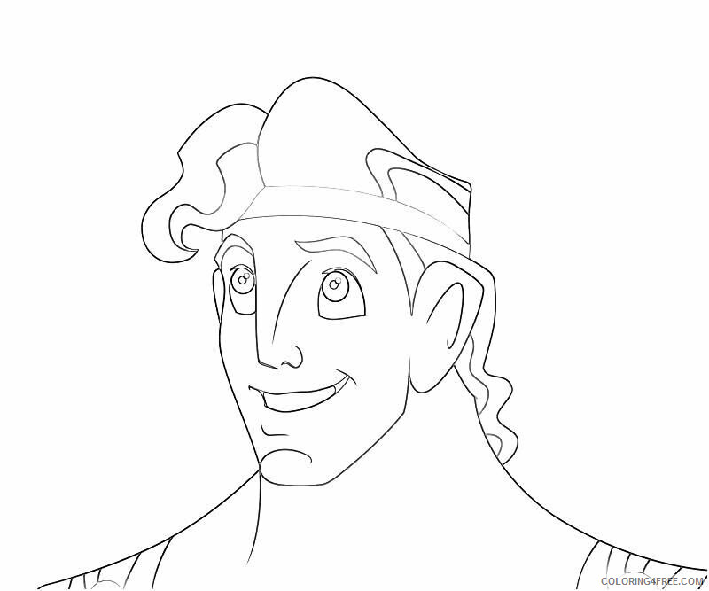 Az Coloring Pages of Hercules Printable Sheets Download Face Of Hercules Cartoon 2021 a Coloring4free