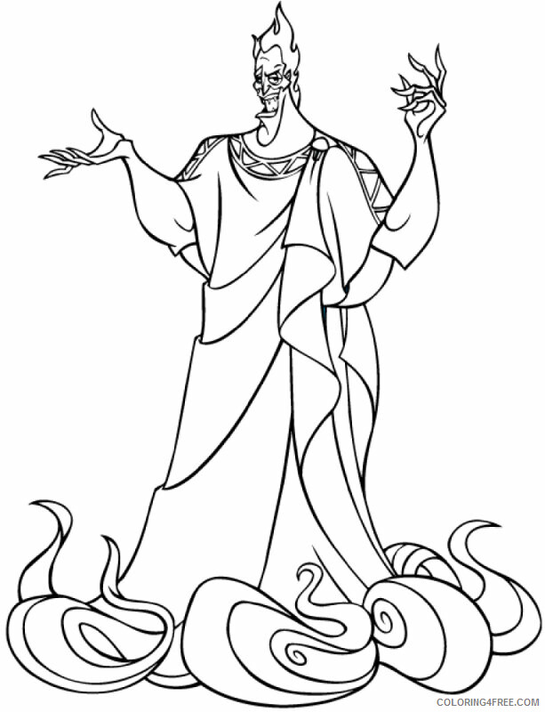 Az Coloring Pages of Hercules Printable Sheets Related Pictures Disney Hercules 2021 a Coloring4free