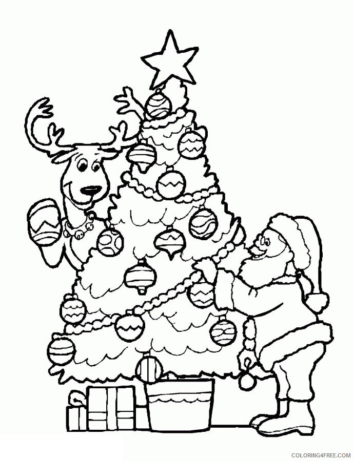 Az Colouring Christmas Coloring Pages Printable Sheets Christmas Santa Coloring 2021 a 4508 Coloring4free