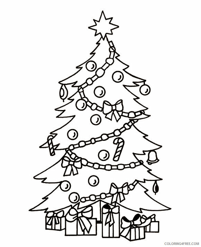 Az Colouring Christmas Coloring Pages Printable Sheets Free Printable Christmas Tree 2021 a Coloring4free