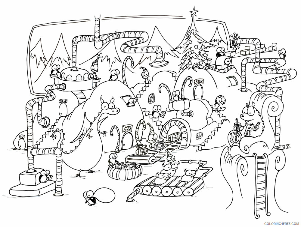 Az Colouring Christmas Coloring Pages Printable Sheets page jpg 2021 a 4514 Coloring4free