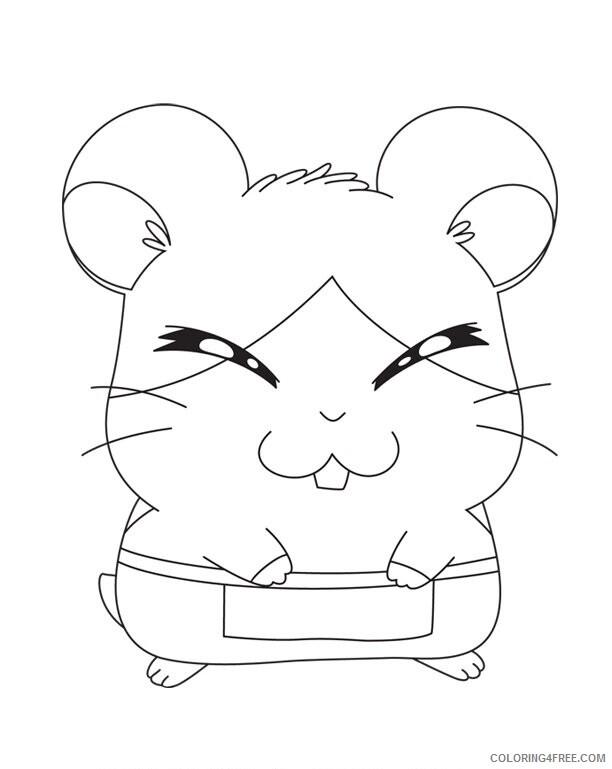 Az Hamtaro Coloring Pages Printable Sheets Desenho Do Hamtaro AZ Dibujos 2021 a 4535 Coloring4free
