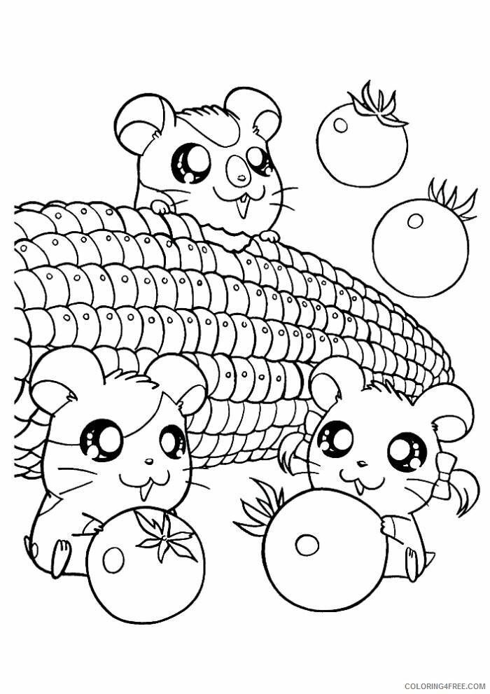 Az Hamtaro Coloring Pages Printable Sheets Hamtaro Az Coloring 2021 a 4543 Coloring4free