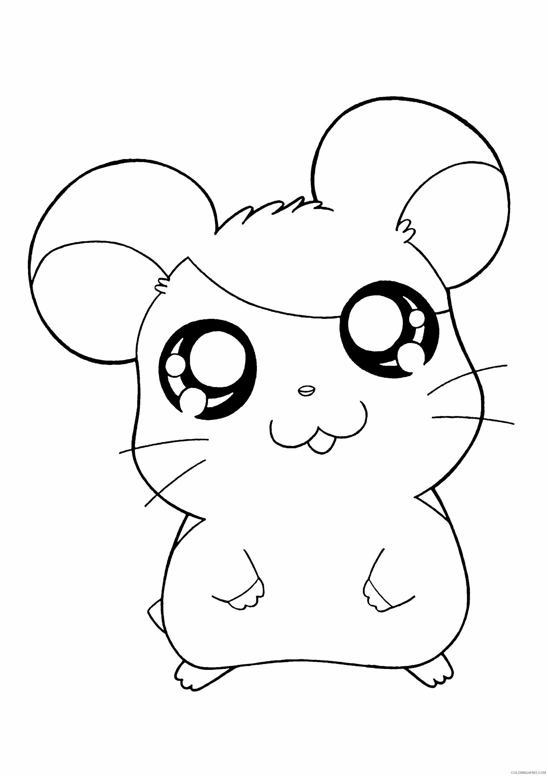 Az Hamtaro Coloring Pages Printable Sheets Hamtaro Pictures High Quality 2021 a 4547 Coloring4free