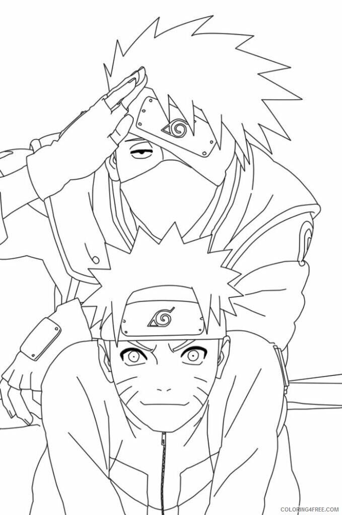 Az Sakura Coloring Pages Printable Sheets Anime Naruto Coloring 2021 a 4555 Coloring4free