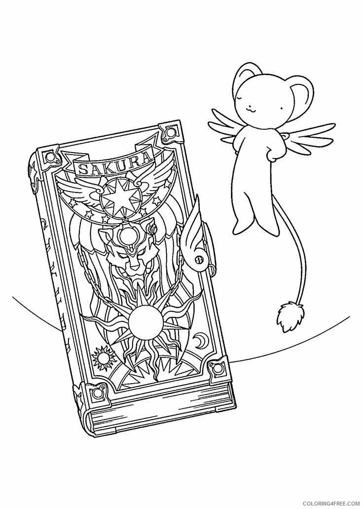 Az Sakura Coloring Pages Printable Sheets Book Sakura anime pages 2021 a 4556 Coloring4free